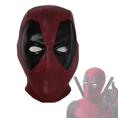 DP Mask Deluxe Full Head Latex Helmet Cosplay Costume Accessory Xcoser New