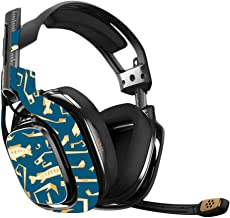 MightySkins Skin Compatible with Astro A40 Gaming Headset - Deco Fish   Protective, Durable, and Unique Vinyl Decal wrap Cover   Easy to Apply, Remove, and Change Styles   Made in The USA
