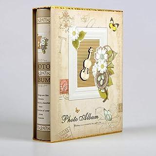 FTFTO Maison Rénovation Mobilier Albums Photo Album 4d Grand 6 Pouces Intert 200 Pages Papier Scrapbook Bébé Famille Maria...
