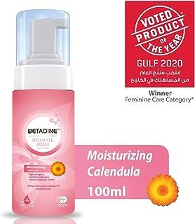 Betadine Intimate Foam - Moisturising Calendula, 100 ml