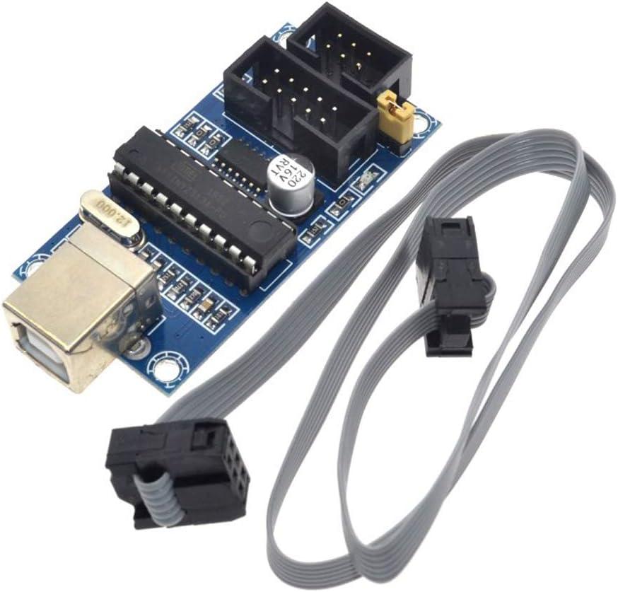 HiLetgo USBTiny USBtinyISP AVR ISP 10 New Max 73% OFF product type 6 Bootloade Pin Programmer