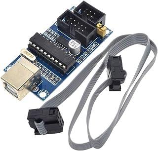 HiLetgo USBTiny USBtinyISP AVR ISP Programmer 6/10ピンブートローダー