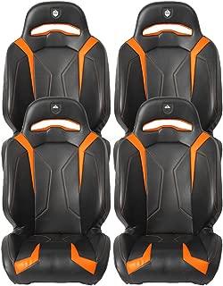 Pro Armor Orange RZR Suspension Seat 2011-2019 Polaris RZR XP 1000 Turbo 4 S, 4 Pack