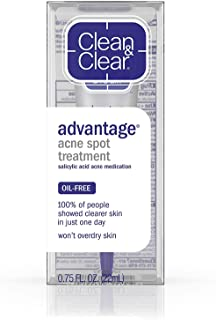 Clean & Clear Adv Spt Trtmnt Size .75z Advantage Acne Spot Treatment