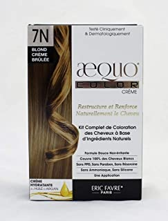 Aequo Color Cream Kit 7N Creme Brulee Blonde