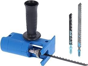 Sierra recíproca, portátil, multifunción, juego de adaptadores de sierra recíproca, accesorio para taladro eléctrico, herramientas manuales, accesorios para herramientas eléctricas para cortar madera