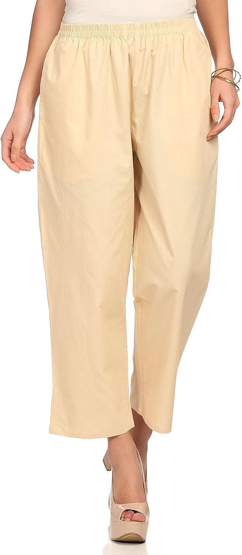 Biba Women's Beige Cotton Pants