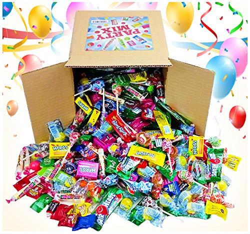 Assorted Candy Party Mix, 6x6x6 Bulk Box (Appx. 4 Lbs) - Easter Candy Bulk : Fire Balls, Airheads,...