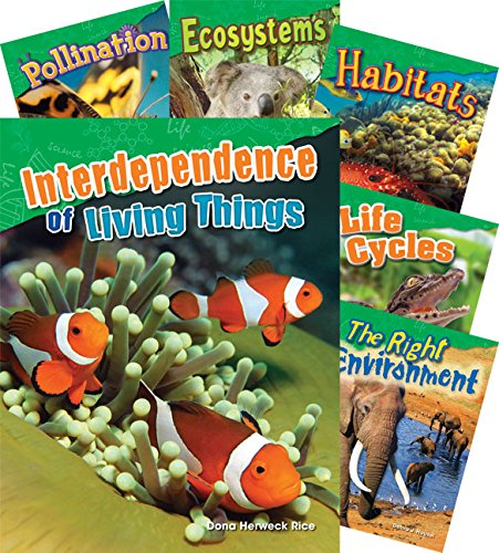 Teacher Created Materials - Science Readers: Content and Literacy: Let's Explore Life Science - 10 Book Set - Grades 2-3