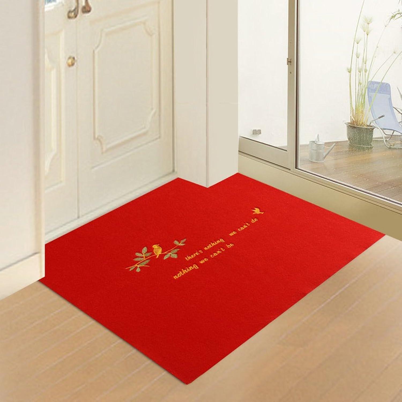 Doormats Water-Absorption Door mat Indoor mat for Bathroom Kitchen -C 100x160cm(39x63inch)