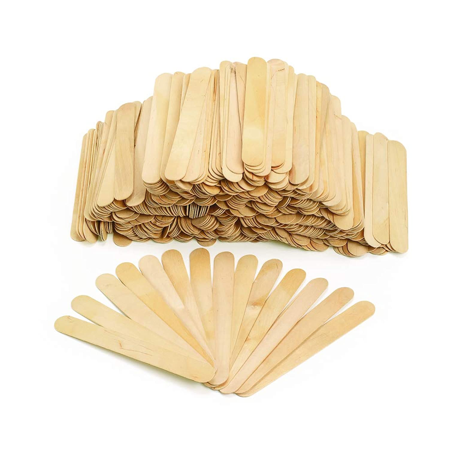 Colorations NJUMBO Jumbo Wood Craft Sticks (Pack of 500)