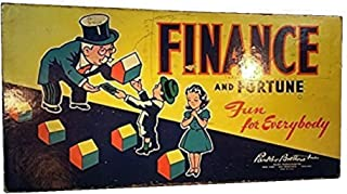 RARE-Finance and Fortune Board Game 1936 Edition Parker Brothers