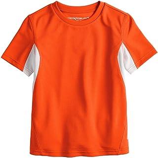 ZeroXposur Boys Youth and Toddler Downdrift Swim Shirt Sun Protection Swimming Rashguard Top UPF 50 +