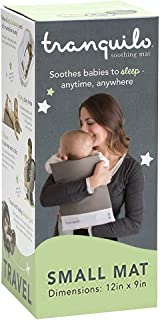 Tranquilo Mat, Small: Vibrating Baby Mat Aides in Calming Fussy Baby for Easier Sleep - Soother Pad is Great Solution to Help Baby Sleep in The Crib, Small: Infant: 0-12 Months