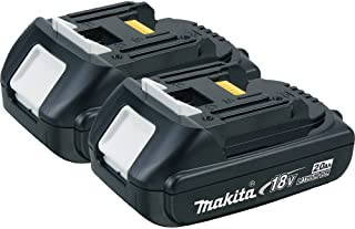 Makita BL1820-2 18V Compact Lithium-Ion 2.0Ah Battery, 2-Pack (Discontinued by Manufacturer)