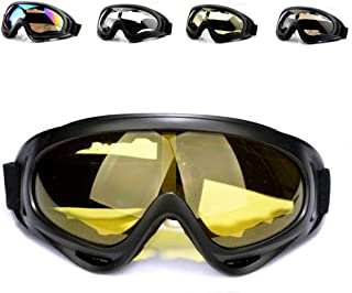 First Choose Anti-Glare Lenses, Ski Goggles, Winter Sport Snowboard Goggles with UV 400 Protection, Snowboard Goggles for Kids, Boys & Girls, Youth, Men & Women, Helmet, Wind Resistance