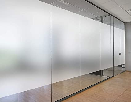 Buy SMARTBUYER :Plastic Frosted Window Self Adhesive Privacy Glass Film (40cm x 200cm) , 1 Piece , Clear White Online at Low Prices in India - Amazon.in