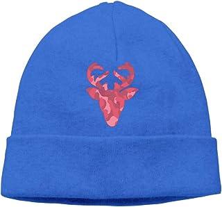 8a9ddbbf43fb5 Camo Deer Head Men/Women Helmet Liner Running Beanie Hat