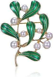 Cdet 1pc Broche Femme Alliage Bijoux D/écoration Broche pins Pour Manteau Accessoire de Costume Mariage F/ête Cadeau Corsage Ch/âle /Écharpe Forme dabeille bleu-vert