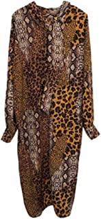 ドレス、女性のカクテルフォーマルスイング ドレス、気質の女神の黄色い印刷ライト細いルースの野生のドレス女性ほとんどの人に適して スリーブスリムビジネスペンシル