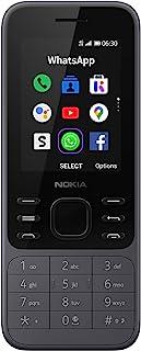 Nokia 6300 4G | Unlocked | Dual SIM | WiFi Hotspot | Social Apps | Google Maps and Assistant | Light Charcoal