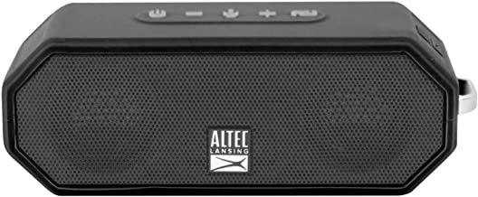 $49 » Altec Lansing IMW449 Jacket H2O 4 Rugged Floating Ultra Portable Bluetooth Waterproof Speaker with up to 10 Hours of Batte...