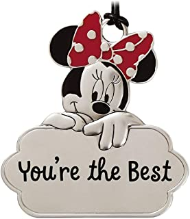 Hallmark You're The Best Metal Minnie Mouse Ears Christmas Ornament