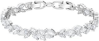 SWAROVSKI Crystal Louison White Rhodium-Plated Bracelet