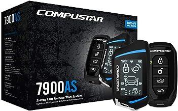 Compustar CS7900-AS All-in-One 2-Way Remote Start and Alarm Bundle w / 3000 feet Range