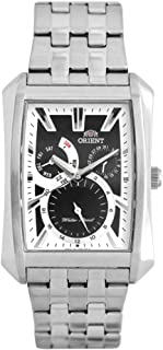 Orient Watch for Men - Analog Stainless Steel Band - SUTAF005B0