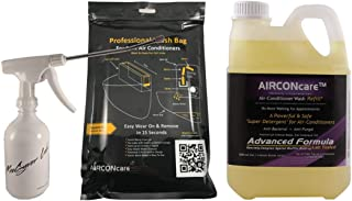 AIRCONcare Air Conditioner Cleaning Kit 2 for Ductless Split AC (Standard)