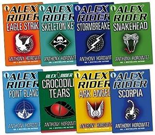 Alex Rider Pack Collection, 8 books, RRP £63.92 (Stormbreaker, Point Blanc, Skeleton Key, Eagle Strike, Scorpia, Ark Angel, Snakehead, Crocodile Tears) (Alex Rider) (Alex Rider)