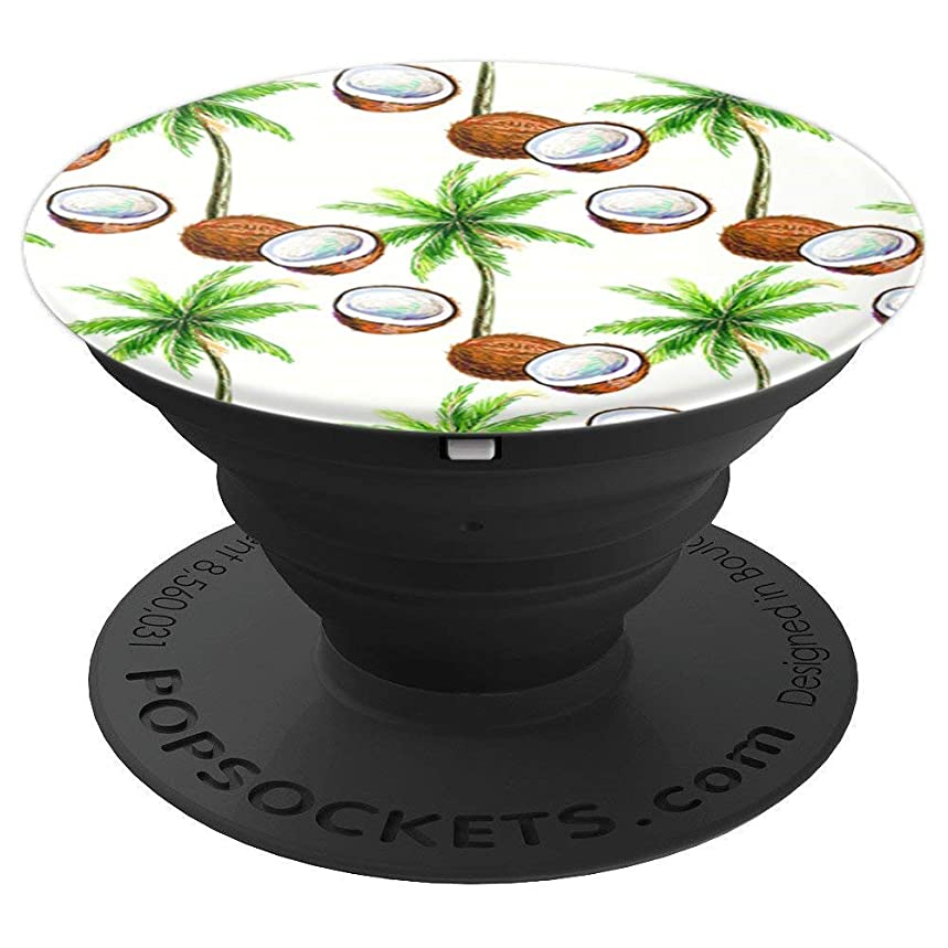 Tropical Palm Tree Coconut - PopSockets Grip and Stand for Phones and Tablets