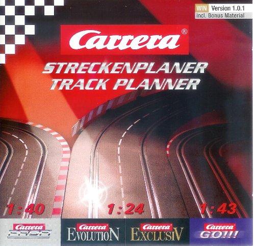 Carrera Streckenplaner für die Systeme GO, EVOLUTION, EXCLUSIV + PROFI | Track Planner | Track Designer