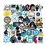 50Pcs Hacker Program Waterproof Stickers for Laptops Books Cars Motorcycles Skateboards Bicycles Suitcases Skis Luggage Hydro Flasks etc YH