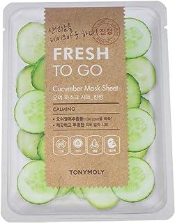 Tonymoly Fresh To Go Cucumber Mask Sheet, 2-Piece, 20g