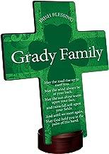 Personalized Irish Blessing Shamrock Cross - Old Irish Blessing 2