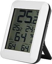 Higrómetro inalámbrico Digital Termómetro Interior, LCD Sensor de Humedad de Temperatura Digital Medidor de Humedad Interior Termómetro Higrómetro(Higrómetro)