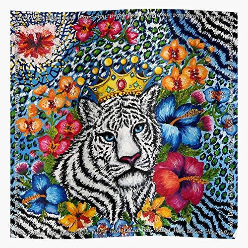 Tropical Bellart Tiger Helen Flowers Orchidea El mejor y más nuevo póster...