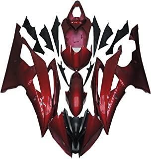 NT FAIRING Red Injection Mold Fairing Fit for Yamaha 2008-2016 YZF R6 New Painted Kit ABS Plastic Motorcycle Bodywork Aftermarket