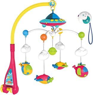 Baby Musical Crib Mobile with Remote Control, Projection Mobile