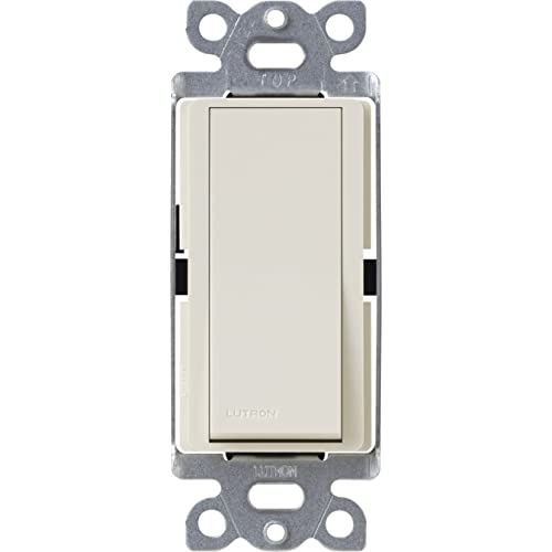 Lutron Claro On/Off Switch, 15-Amp, Single-Pole, CA-1PS-LA, Light Almond - Dimmer Switches - Amazon.com