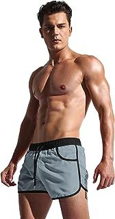 COOFANDY Men's Swimming Shorts Swimwear Swimsuit Boardshorts with Pocket
