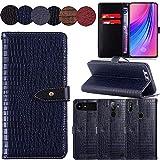 QHTTN Muster Premium Blau Leder Tasche Hülle Für Archos