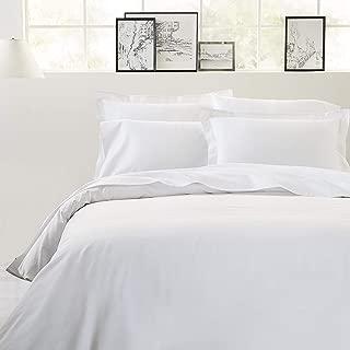 Luxxurecare 1500TC Supreme Expanded Queen Size White Solid 3pc Duvet Set + 6pc Sheet Set (12