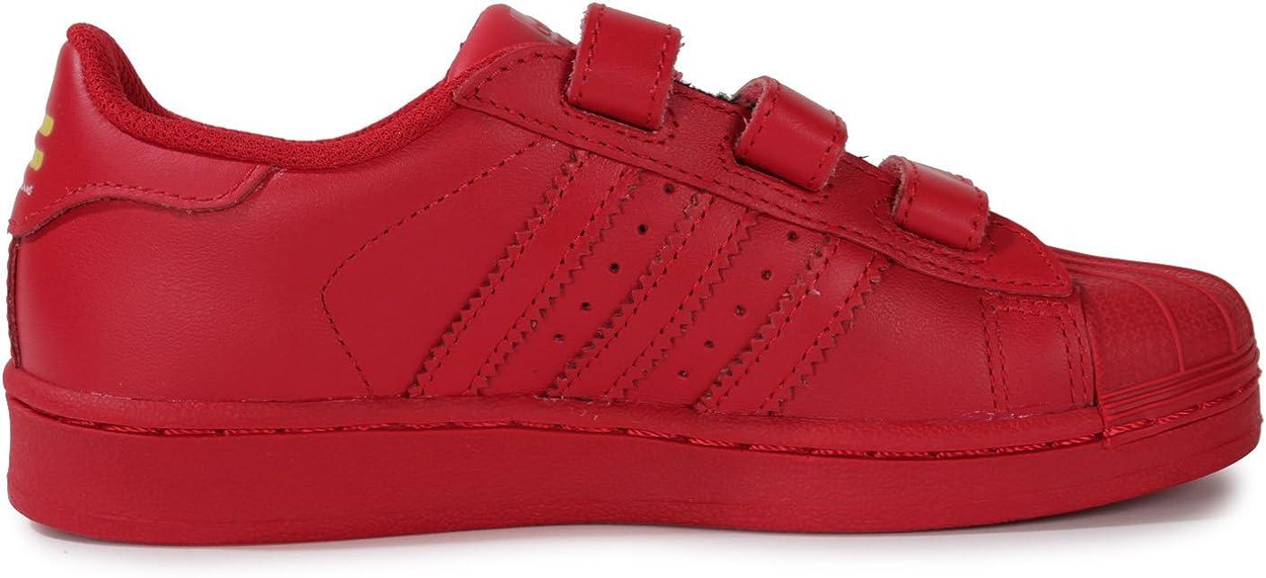 adidas Superstar Supercolor Rouge Enfant Rouge : Amazon.fr ...