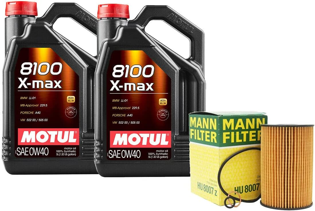 10L 8100 X-MAX Max 43% OFF 0W40 Max 78% OFF Filter Motor Change with Oil Compatible kit