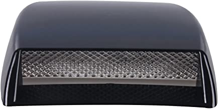 Aumo-mate Universal Car Air Flow Intake Hood Scoop Turbo Bonnet SUV Vent Cover 10x7x1 inches