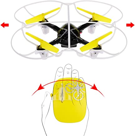 Motion Controlling Drone  with 360 Flip Function Hand Sense Helicopter  2 4Ghz Remote Control  Quadcopter for Boys And Girls