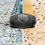 Shark IQ RV1001, Wi-Fi Connected, Home Mapping Robot Vacuum, Without Auto-Empty dock, Black 16 Unbeatable suction vs. any Shark robot vacuum for pickup of large and small debris, as well as pet hair on carpets and hard-floors. Self-cleaning brushroll removes pet hair and long hair from the brushroll as it cleans--no more hair wrap. Schedule whole-home cleanings or target specific rooms or areas to clean right now with the Shark Clean app or voice control with Amazon Alexa or Google Assistant.